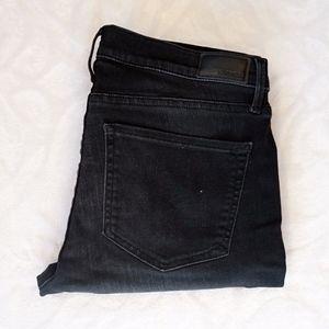 Express Mid Rise Black Jean Leggings Size10